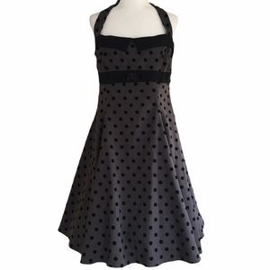 COLLECTIF Stella Doll Polka Dot Swing Dress